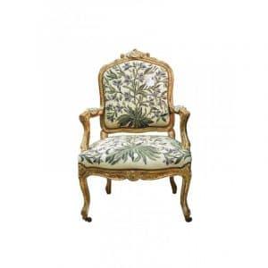 fauteuil style régence époque XIX
