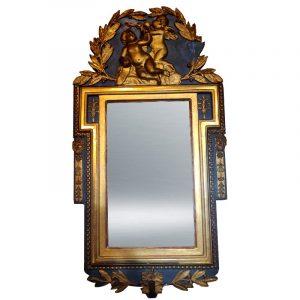 Miroir d'applique Italie Fin XVIII début XIX ème
