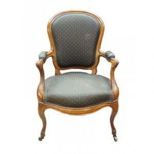 Paire de fauteuils Napoléon III