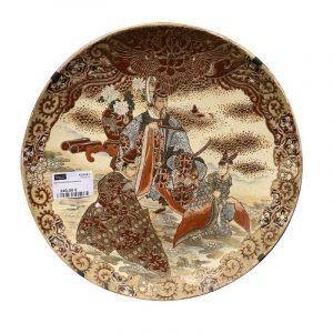 Plat en porcelaine Satsuma