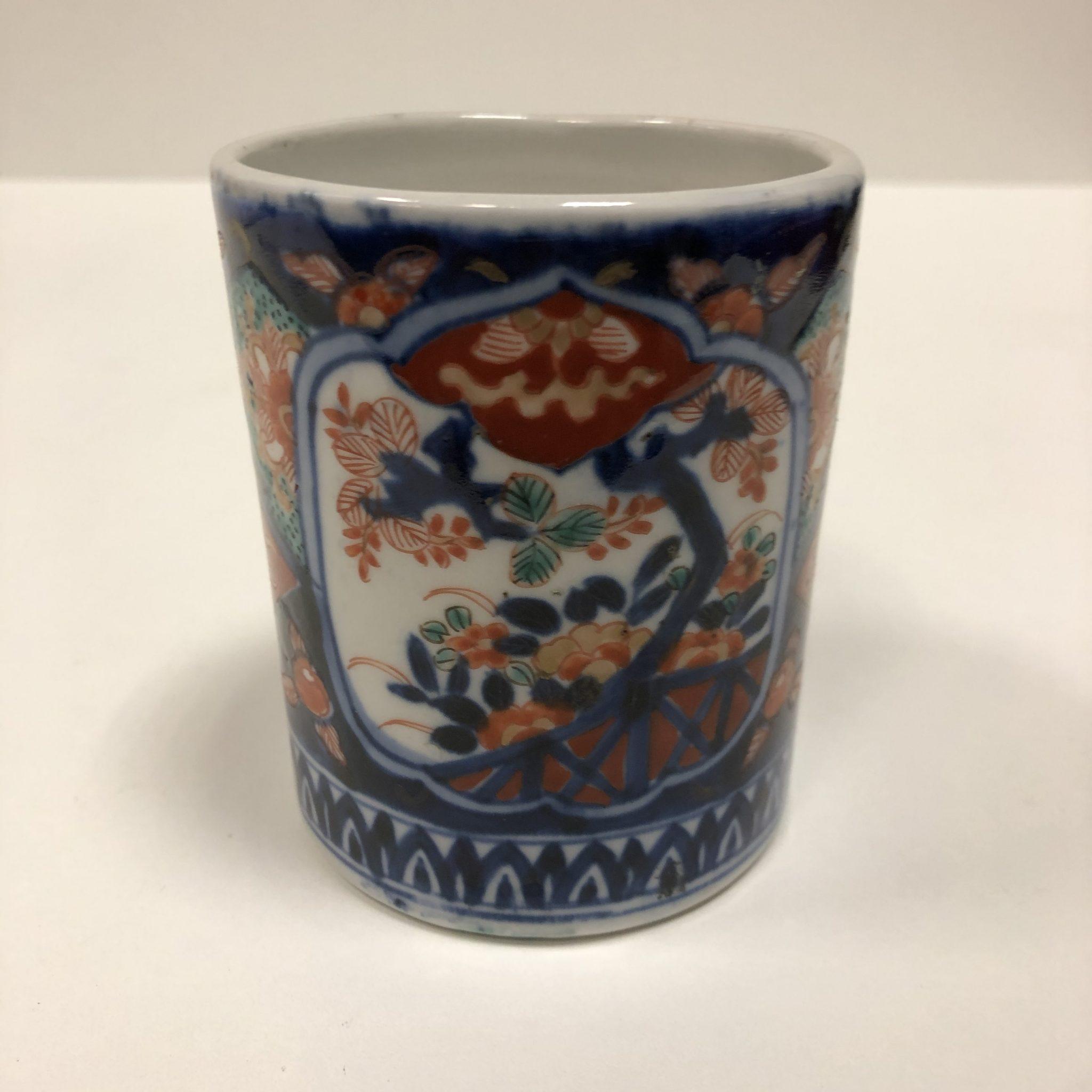 Vase porcelaine Imari