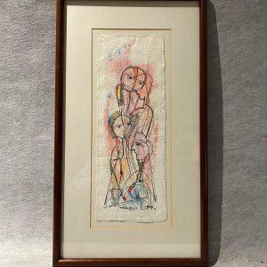 Aquarelle et encre, Composition, Luis Soares