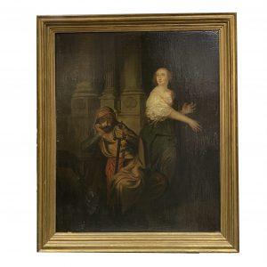 Huile sur toile XVIIe