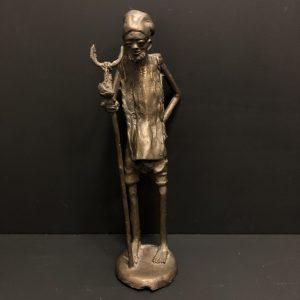 Sculpture africaine en bronze
