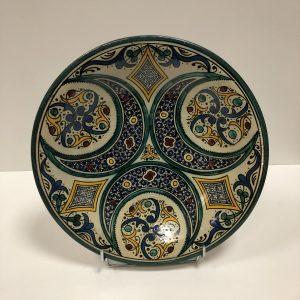 Plat en céramique oriental