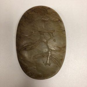 Boite pierre dure sculptée Chine