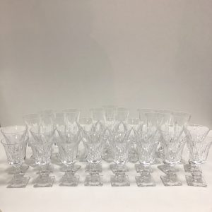 Verres en cristal de Sèvres