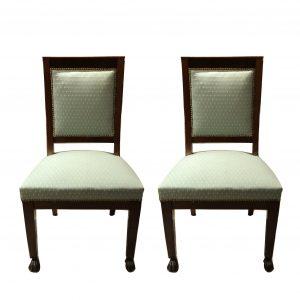 Paire de chaises Empire