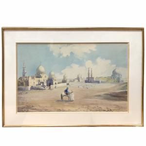Aquarelle 1900