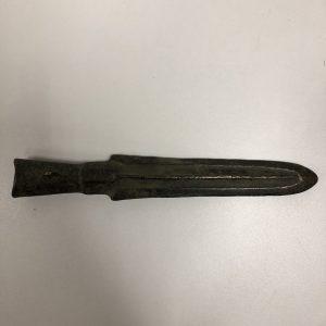 Pointe de lance bronze Chine