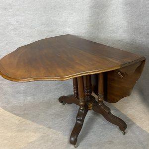 Table à volets acajou, XIXe