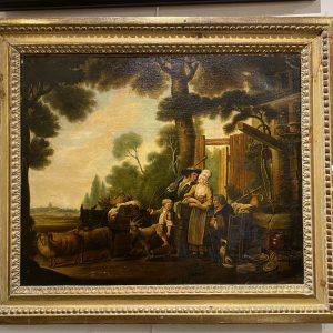 Huile sur toile XIXe siècle