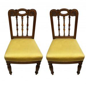 Paire de chaises XIXe