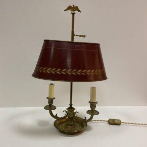 Lampe bouillotte bronze