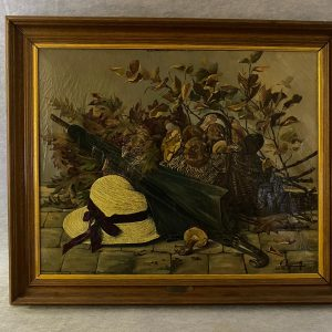 Huile sur toile, nature morte, l'Automne 1934, Clozier